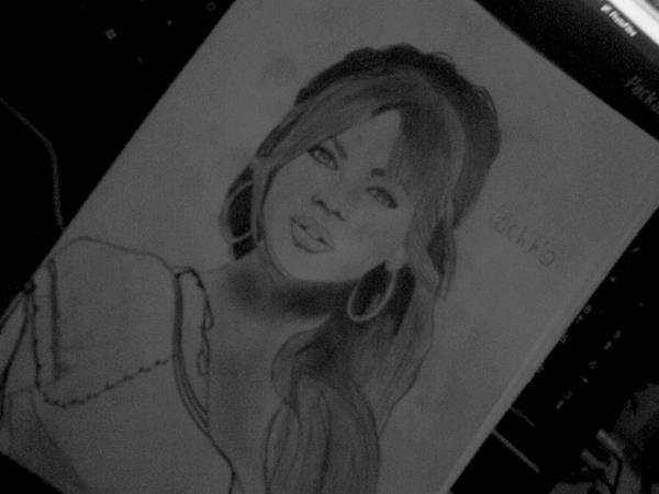 Beyonce by Laetitia-Drawing